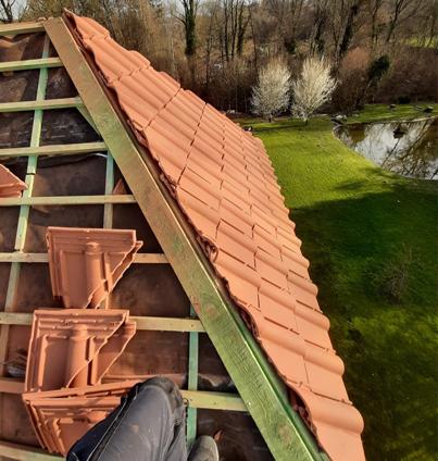 Entreprise de toiture à Louvière